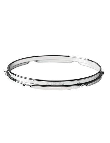 Barra de LEDs tricolor 12 x 3 W con carcasa blanco y mando a distancia por infrarrojos